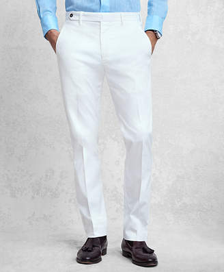 Brooks Brothers Golden Fleece White Pique Chinos