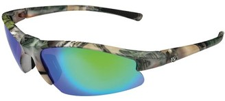 Yachter's Choice 41693 Tarpon Polarized Sunglasses with Green Mirror Lenses & Green Camo Frame