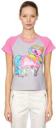 Moschino Little Pony Slim Fit Jersey T-Shirt