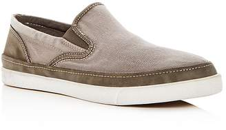 John Varvatos Men's Distressed Slip-On Sneakers