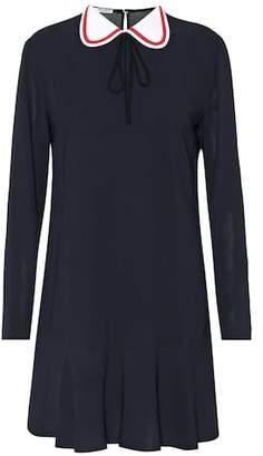 Miu Miu Long-sleeved minidress