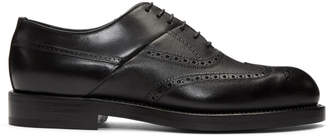 Pierre Hardy Black Twin Perforated Oxfords