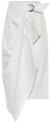 Isabel Marant Fiova leather midi skirt