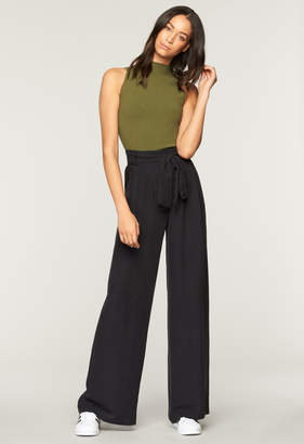 Milly WASHED SILK NATALIE PANT