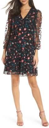 Sam Edelman Embroidered Mesh Dress