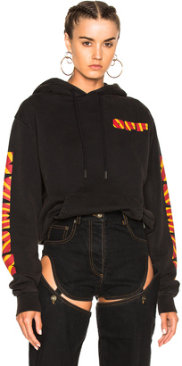 OFF-WHITE Woman Sleeve Hoodie $684 thestylecure.com