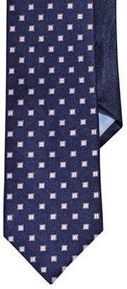 Tommy Hilfiger Silk Square Dot Neat Tie