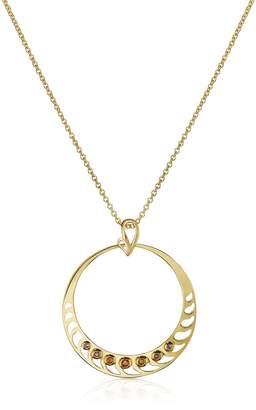 Sho London Silver Vermeil Pendant Necklace