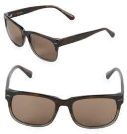 Zac Posen Hayworth 55MM Rectangular Sunglasses
