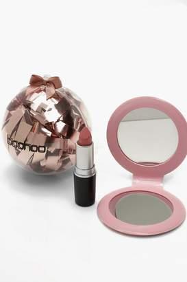 boohoo Christmas Beauty Bauble - Lips
