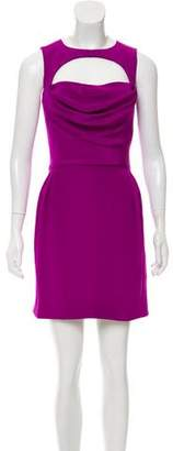 Cushnie et Ochs Silk Sleeveless Cut Out Dress w/ Tags