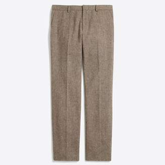 J.Crew Factory Slim Thompson suit pant in bird's-eye wool