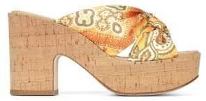 Donald J Pliner Beeya Wedge Sandals