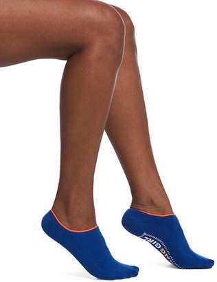 Hue Inspiration Gripper No Show Cushioned Socks