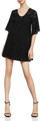 BCBGMAXAZRIA Lace A-Line Dress