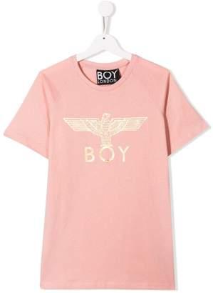Boy London Kids TEEN Eagle logo print T-shirt