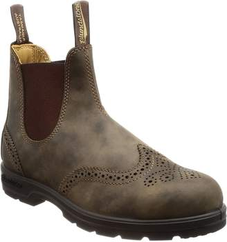 Blundstone Unisex Leather Lined Pull-On Boot Rustic Brn 9.5 M UK
