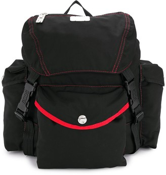 GCDS contrast stitch backpack