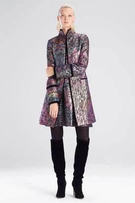 Josie Natori Bohemia Garden Jacquard Jacket