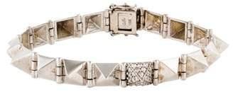 Anita Ko 18K Diamond Large Spike Bracelet