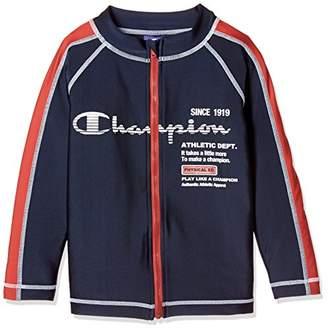 Champion (チャンピオン) - [チャンピオン] ラッシュガード CX1304 ボーイズ ネイビー 日本 150 (日本サイズ150 相当)