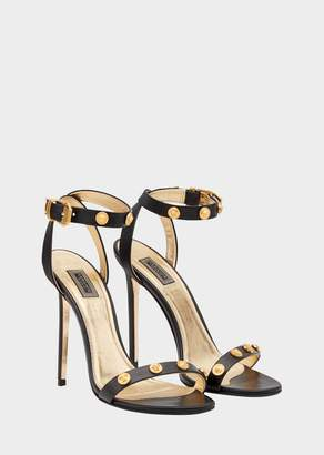 Versace Tribute Leather Sandals