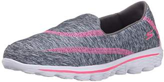 Skechers Go Walk 2-Relay Athletic Slip On (Little Kid/Big Kid)