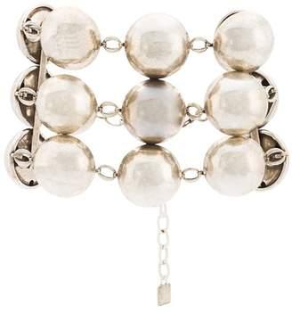 Dannijo beaded chain bracelet