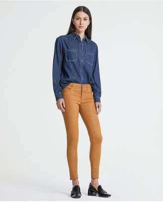 AG Jeans The Legging Ankle - Vintage Leatherette Lt Blue Va