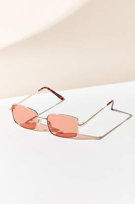 Urban Outfitters Kate Metal Square Sunglasses