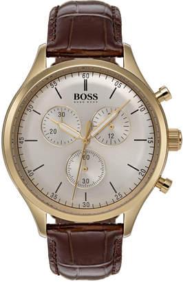 HUGO BOSS 1513545 Chronograph Watch Brown
