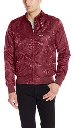 Members Only Men's Jacquard Iconic Racer Jacket