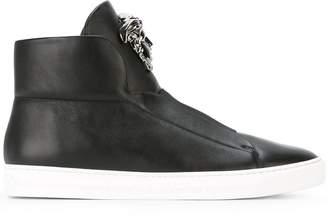 Versace 'Palazzo Medusa' hi-top sneakers