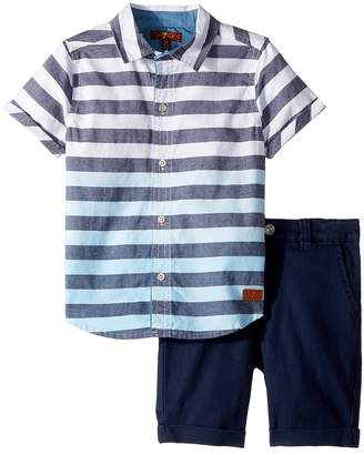7 For All Mankind Kids Two-Piece Set Boy's Active Sets
