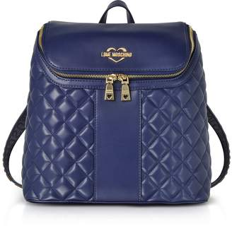 ef6ca845f4d Love Moschino Blue Backpacks For Women - ShopStyle UK
