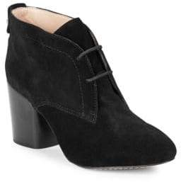 French Connection Dinah Suede Ankle Booties