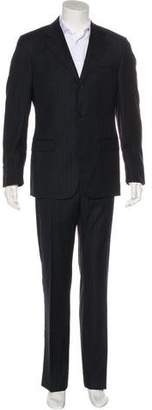 Gucci Striped Wool Two-Piece Suit