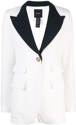 Smythe straight fit blazer