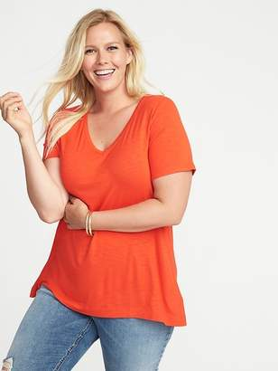 Old Navy Plus-Size V-Neck Swing Tee