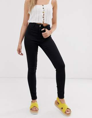 JDY skinny jeggings in black