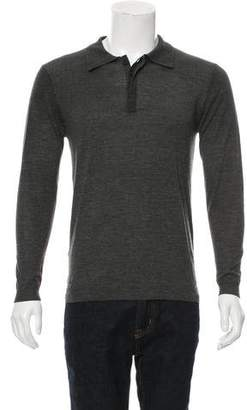Pierre Balmain Wool Polo Sweater