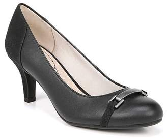 LifeStride Patricia Snake Embossed Pump - Wide Width Available