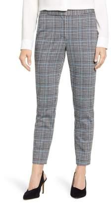 Vince Camuto Plaid Ankle Skinny Pants (Regular & Petite)