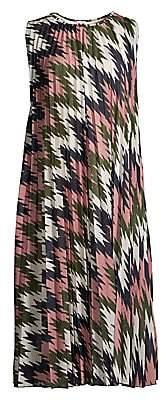 M Missoni Women's Sleeveless Lurex Plissé Dress