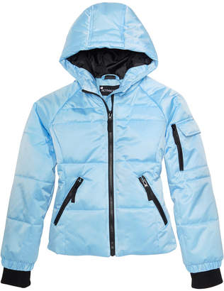 S. Rothschild Big Girls Hooded Puffer Jacket