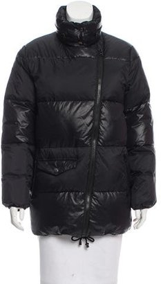 Sandro Oversize Puffer Jacket $165 thestylecure.com