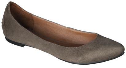Mossimo Women's Kali Pointed Toe Flat - Taupe