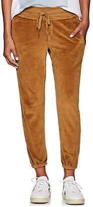 NSF Women's Sayde Cotton-Blend Velour Sweatpants - Gold