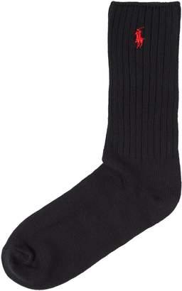 Polo Ralph Lauren Men's Cotton ribbed crew socks