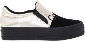 40mm Zinah Metallic Slip-On Sneakers $117 thestylecure.com